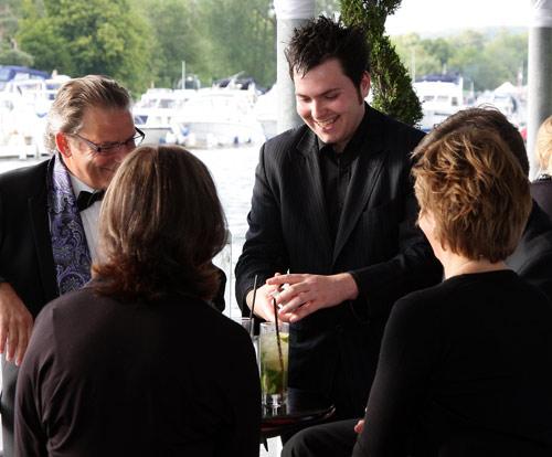 Matt Colman at the Henley Festival 2011